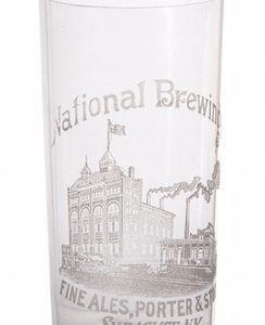 National Brewing Company Beer Glass