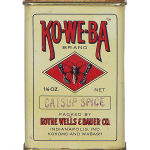 Ko-We-Ba Spice Tin