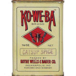 Ko-We-Ba Spice Tin