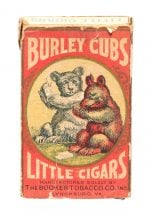 Burley Cubs Little Cigars Box