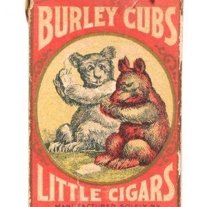 Burley Cubs Little Cigars Box