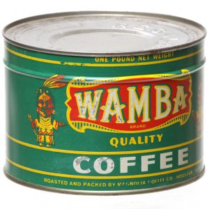 Wamba Coffee Can