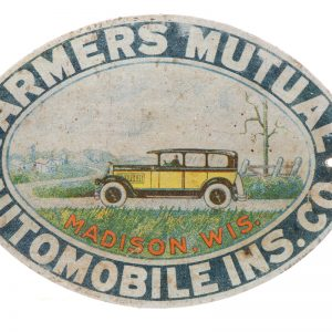 Farmers Automobile Insurance Bumper Tag