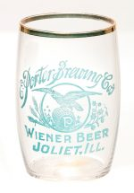Porter Brewing Co. Beer Glass