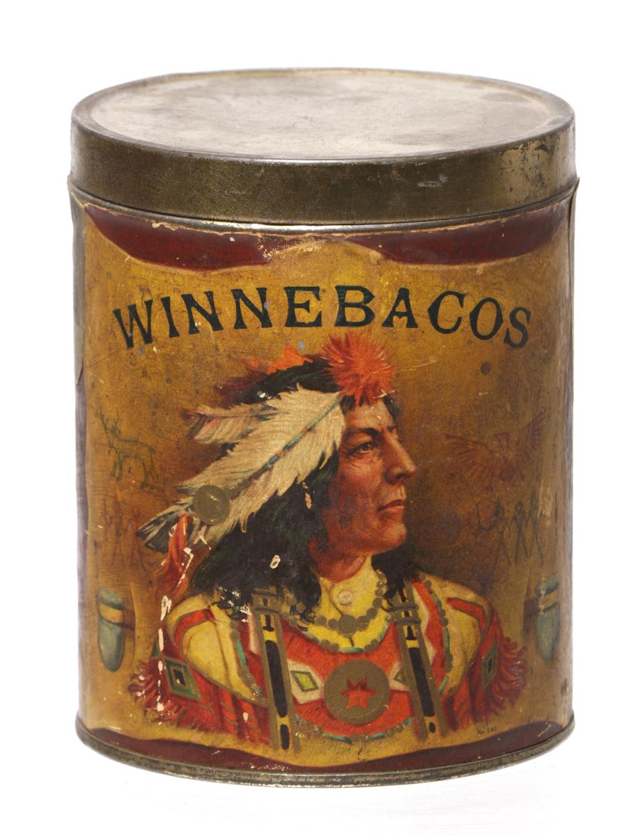 Winnebacos Cigar Can