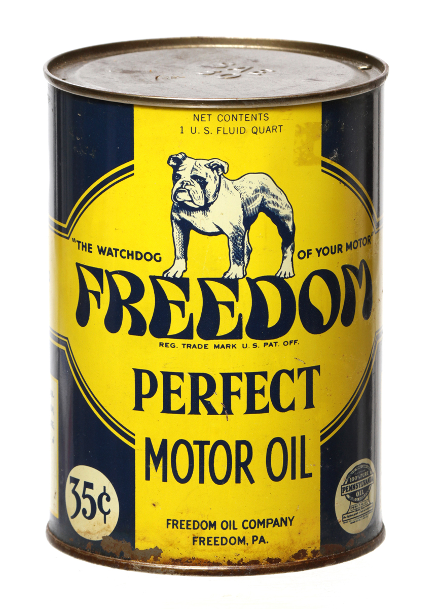 Freedom Motor Oil Can