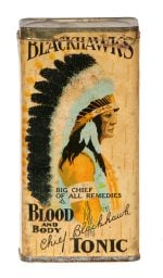 Blackhawks Blood Tonic Tin