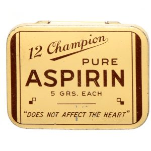 Champion Aspirin Tin