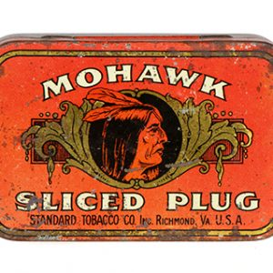 Mohawk Tobacco Tin