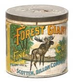 Forest Giant Tobacco Tin