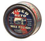 Tiger Auto Wax Polish Tin