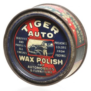 Tiger Auto Wax Polish Tin