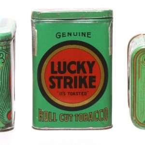 Lucky Strike Tobacco Tins