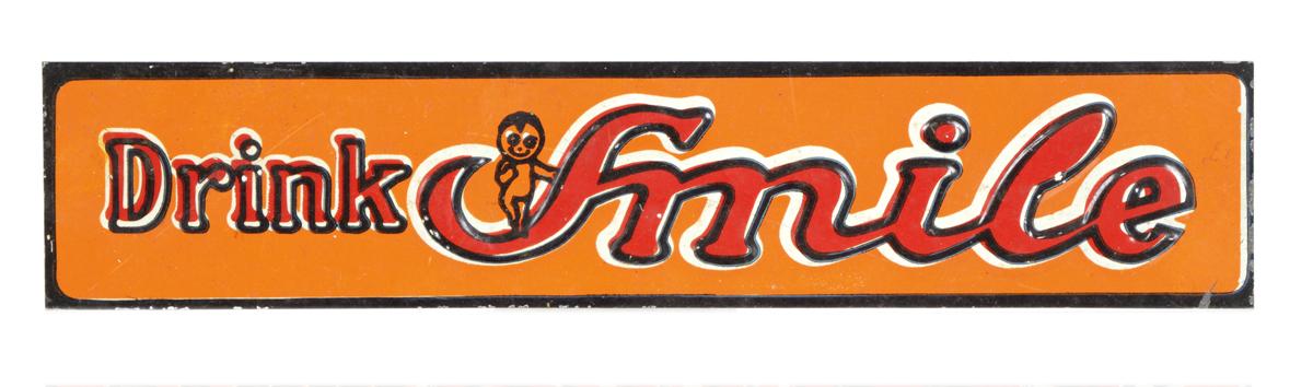 Smile Soda Strip Sign
