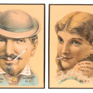 "Old Judge Tobacco Card ""Scraps"""