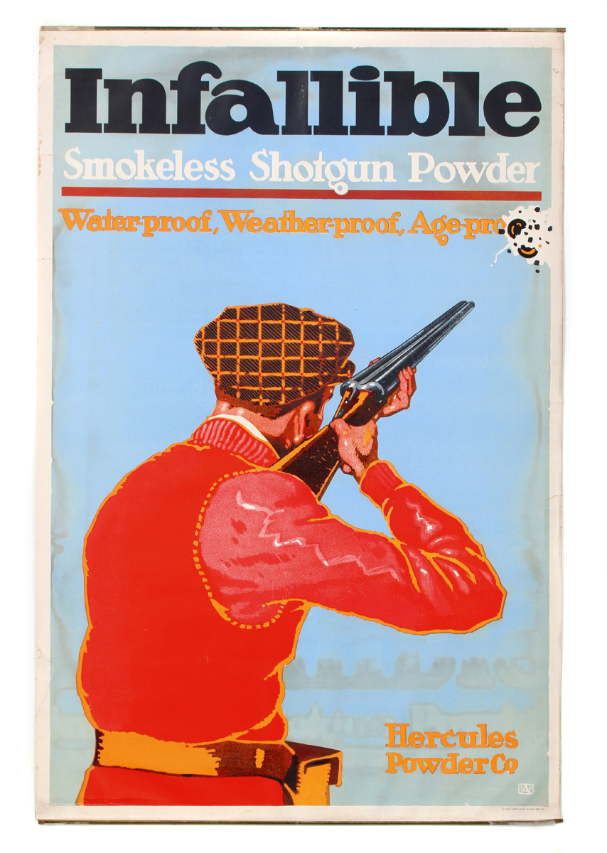 Infallible Smokeless Shotgun Powder Poster
