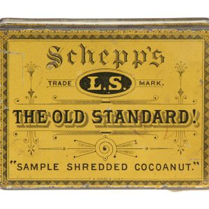 Schepp's Cocoanut Sample Tin