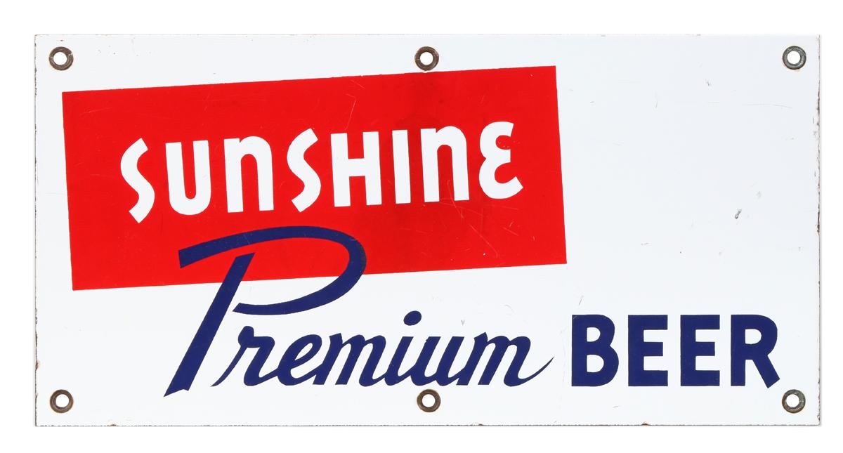 Sunshine Beer Sign