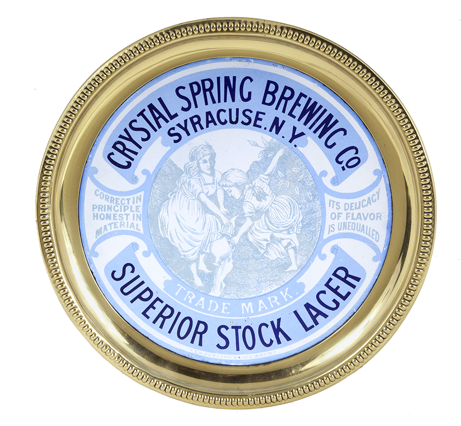 Crystal Spring Brewing Co. Beer Tray