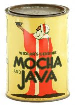 Widlar Mocha Java Coffee Can