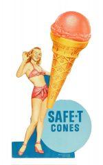 Safe-T Cones Sign