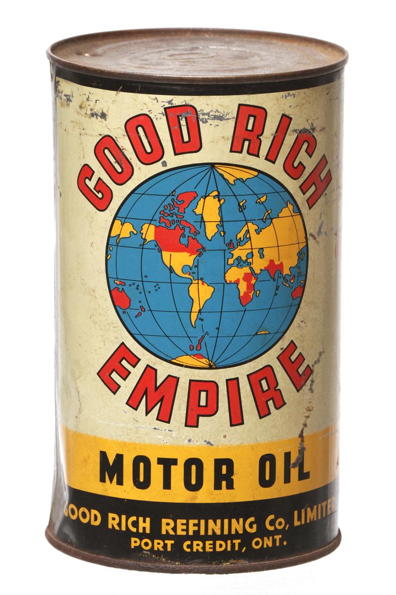 Good Rich Empire Oil Can