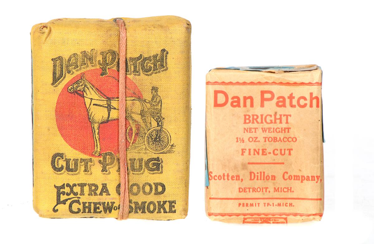 Dan Patch Tobacco Packs
