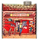 """Log Cabin """"Express Office"""" Syrup Tin"""