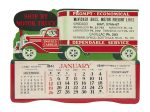 Ship By Motor Truck Desktop Calendar
