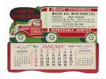 Ship By Motor Truck Desktop Calendar