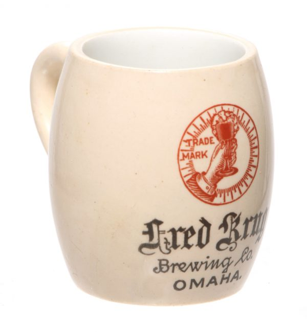Fred Krug Brewing Co. Miniature Mug