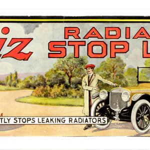 Whiz Radiator Die-Cut Sign