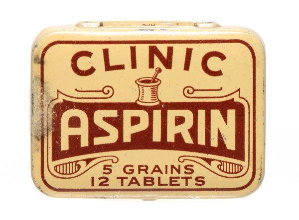 Clinic Aspirin Tin