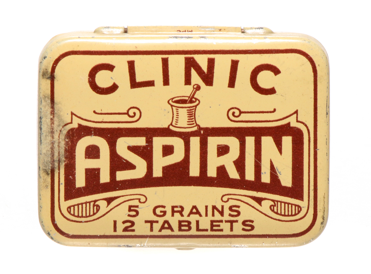 Clinic Aspirin Tin
