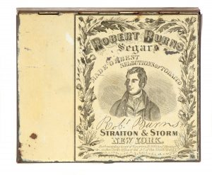 Robert Burns Cigar Tin