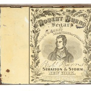 Robert Burns Cigar Tin