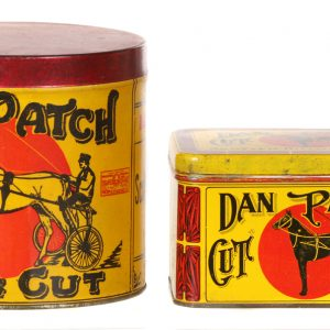 Dan Patch Tobacco Tins