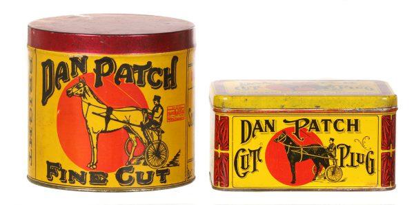 Dan Patch Tobacco Tins