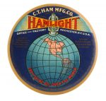 Hamlight Paperweight Mirror