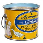 Armour's Veribest Peanut Butter Tin