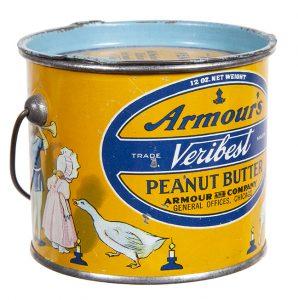 Armour's Veribest Peanut Butter Tin