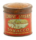 Forest and Stream Tobacco Tin