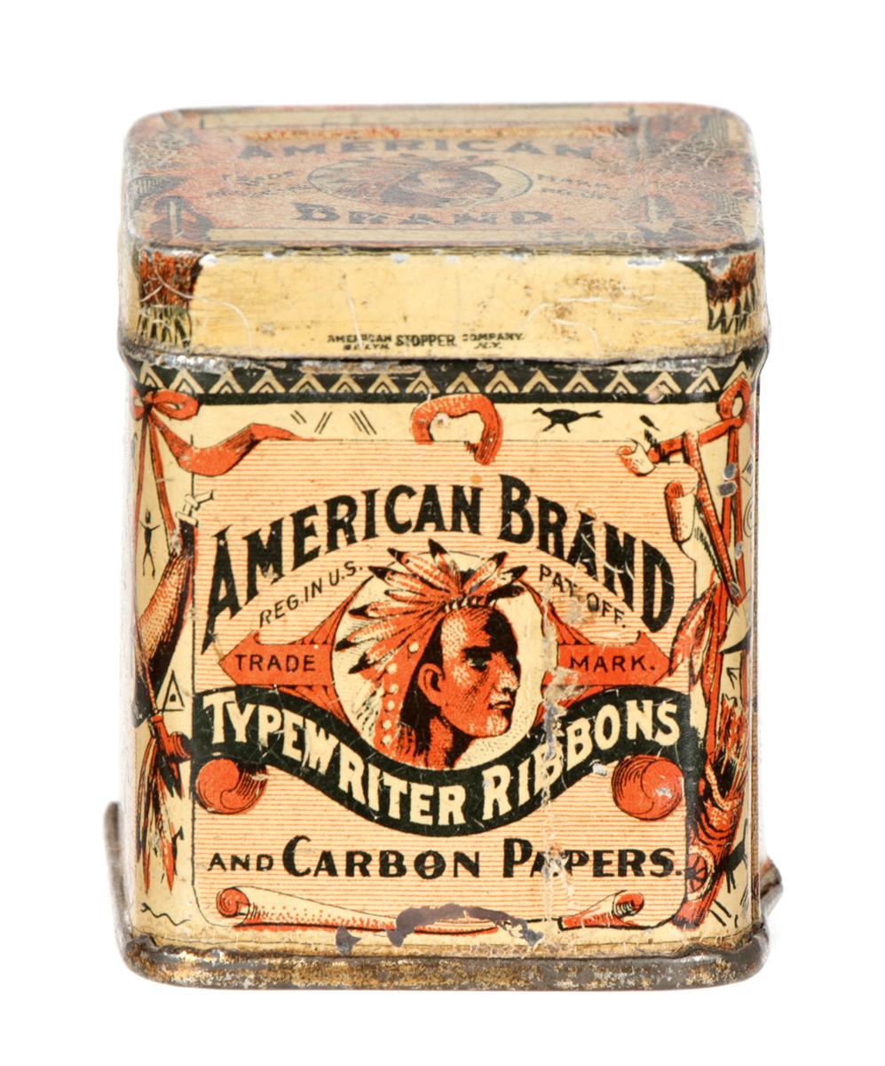 American Typewriter Ribbon Tin
