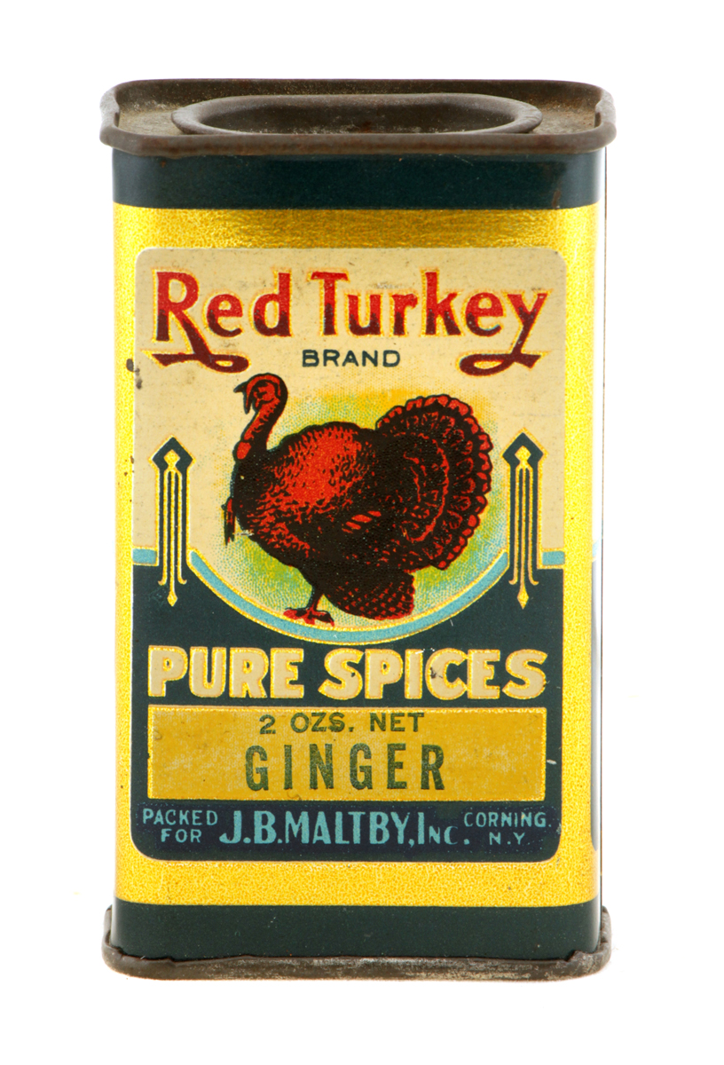 Red Turkey Spice Tin