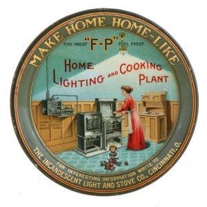 Cincinnati Gas Co. Tip Tray