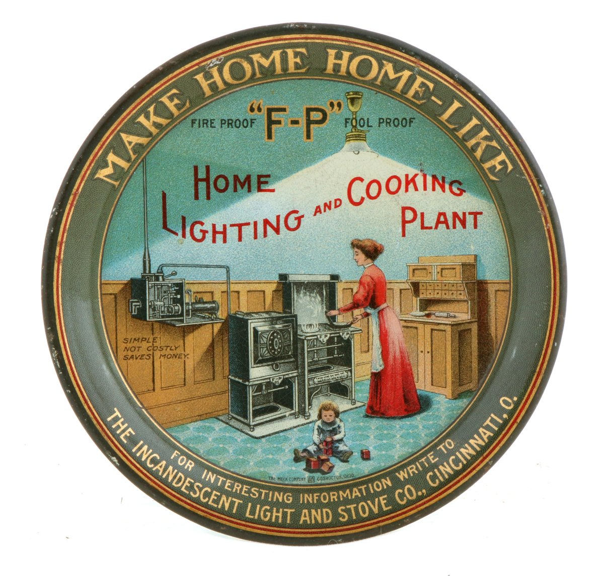 Cincinnati Gas Co. Tip Tray
