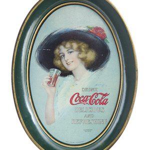 1913 Coca-Cola Tip Tray