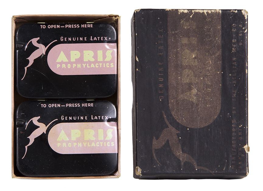Apris Condom Tins