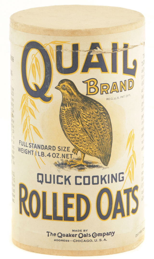 Quail Oats Box