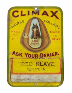 Climax Horse Collars Match Holder